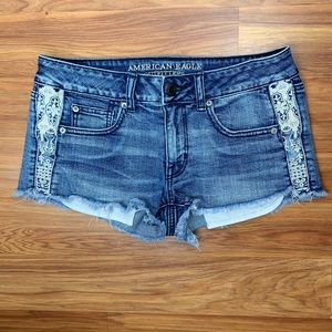 American Eagle outfitters Shortie cut off shorts